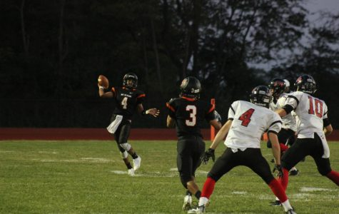 The drought is over: Rams Football win big over Triad