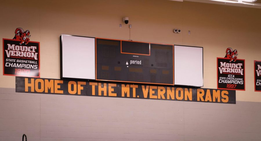 Vintage Signage Added to Changnon Gymnasium
