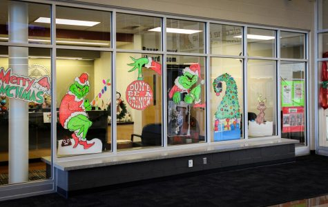District, Attendance Office spread Christmas cheer