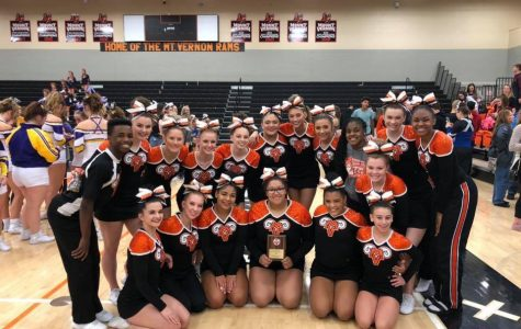 MV Cheer take first place at home competition