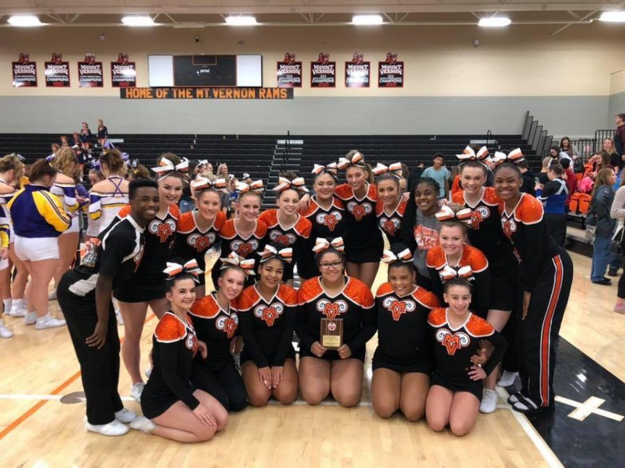 MV+Cheer+take+first+place+at+home+competition