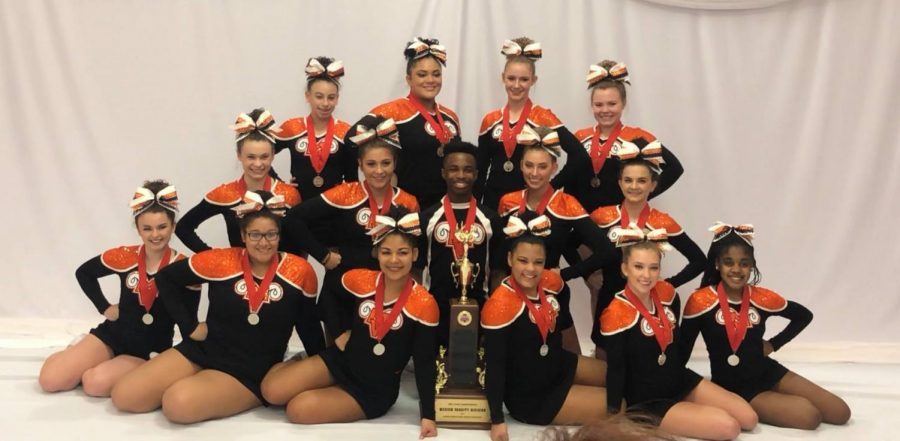 MV Cheer takes second place at state championship