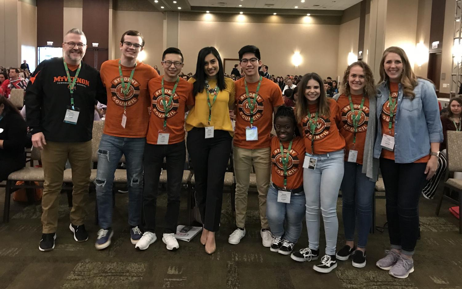 Student Council members attend LEAD Conference