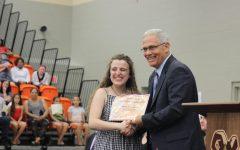 Seniors receive scholarships, awards at Honors Night