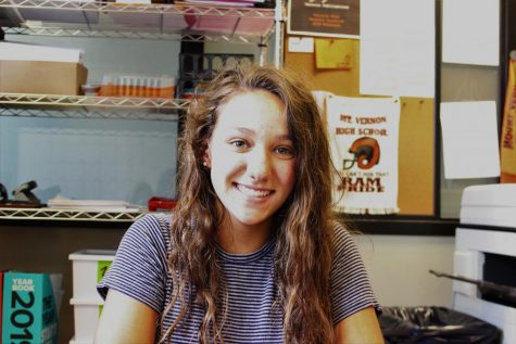 MV graduate returns to Creative Writing